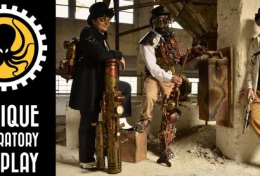 Tra Steampunk e anime, in mostra a GameCom i lavori del gruppo Antique Laboratory Cosplay